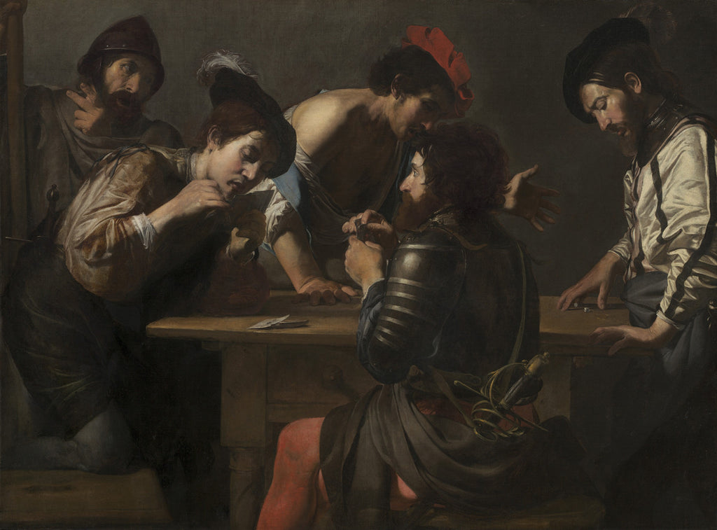 Valentin de Boulogne - Soldiers Playing Cards and Dice (The Cheats)