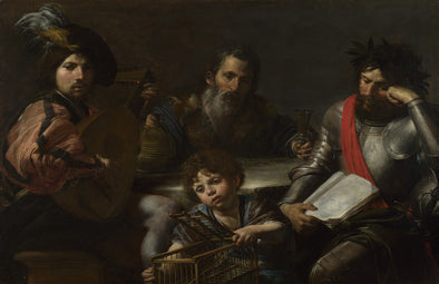 Valentin de Boulogne - The Four Ages of Man