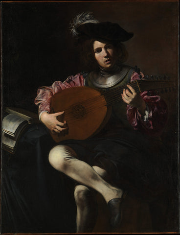 Valentin de Boulogne - The Lute Player