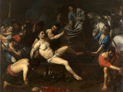 Valentin de Boulogne - The Martyrdom of Saint Lawrence