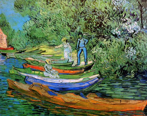 Vincent van Gogh - Bank of the Oise at Auvers