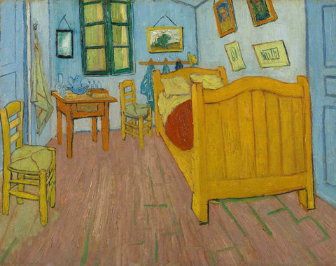 Vincent van Gogh - The Bedroom