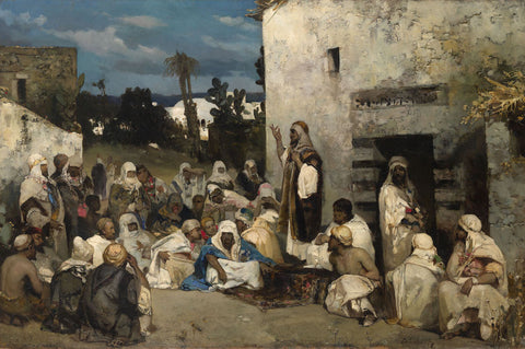 Vasily (Wilhelm) Alexandrovich Kotarbinsky - The Sermon at Capernaum