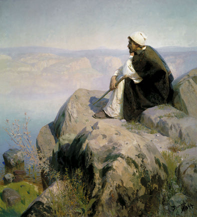 Vasily Polenov - Christ Overlooking Jerusalem