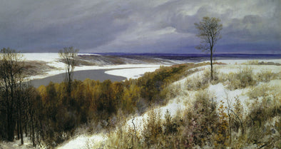 Vasily Polenov - Early Snow