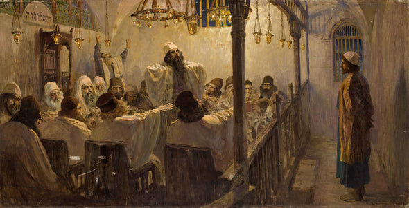 Vasily Polenov - He is guilty of death