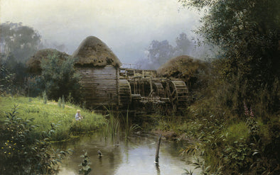Vasily Polenov - Old Mill