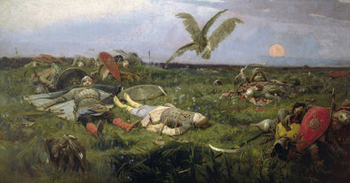 Viktor Vasnetsov - After Prince Igor's Battle with the Polovtsy