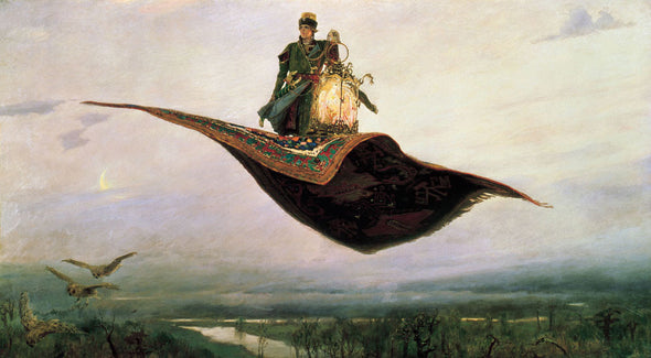 Viktor Vasnetsov - Flying Carpet