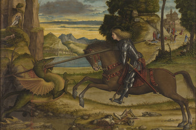 Vittore Carpaccio - St. George and The Dragon