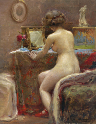 Vlaho Bukovac - Before the Mirror