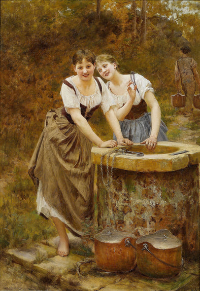 Vlaho Bukovac - The Wishing Well