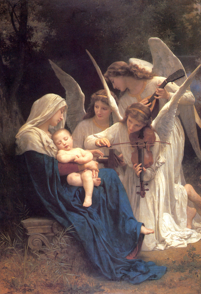 William-Adolphe Bouguereau - Song of the Angels