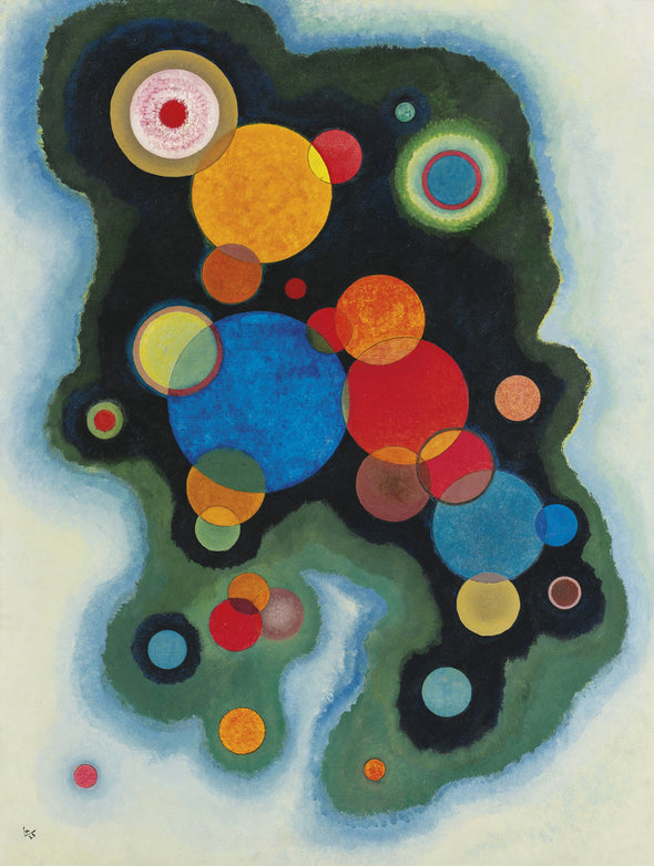 Wassily Kandinsky - Deepened Impulse