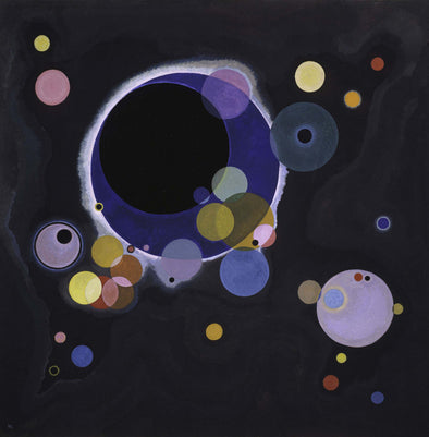 Wassily Kandinsky - Everal Circles