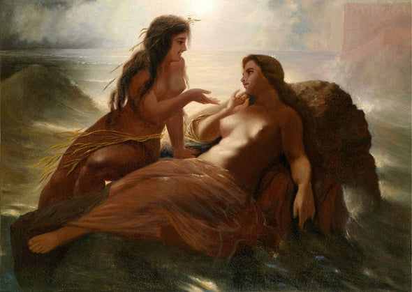 Wilhelm Kray - Attributed to Mermaids