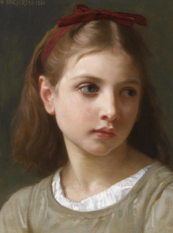 William-Adolphe Bouguereau - A Little Girl