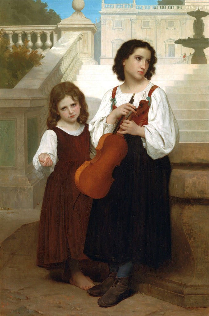 William-Adolphe Bouguereau - Far From Home