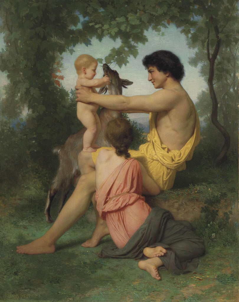 William-Adolphe Bouguereau - Idyll Ancient Family