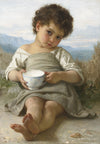 William-Adolphe Bouguereau - La Tasse De Lait