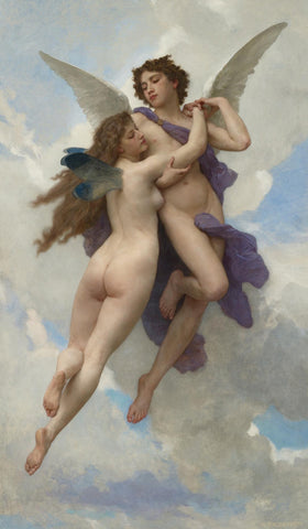 William-Adolphe Bouguereau - L'amour Et Psyché