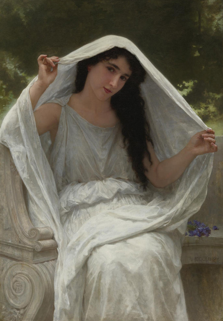 William-Adolphe Bouguereau - Le Voile