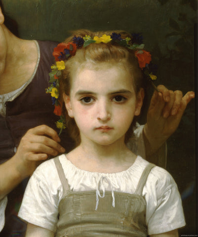 William-Adolphe Bouguereau - Mother and Child