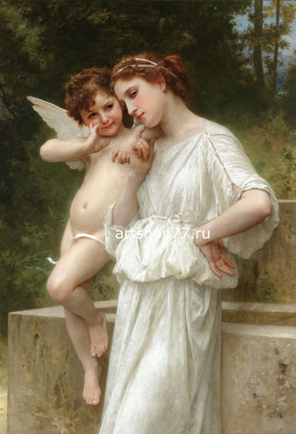 William-Adolphe Bouguereau - Secrets De L'amour