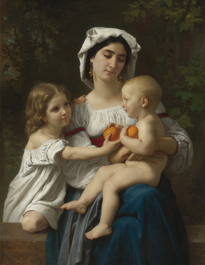 William-Adolphe Bouguereau - The Oranges
