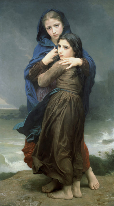 William-Adolphe Bouguereau - The Storm