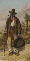 William Aiken Walker - A Man Walking