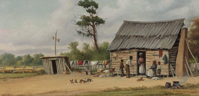 William Aiken Walker - The Old Cabin
