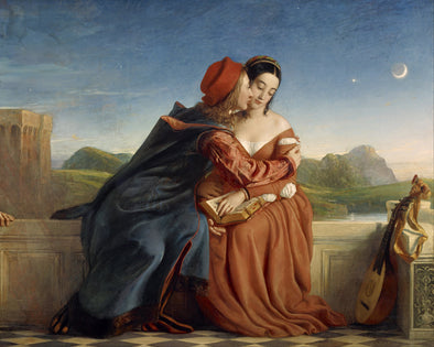 William Dyce - Francesca da Rimini