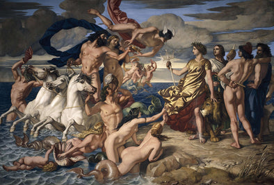 William Dyce - Neptune Resigning the Empire of the Seas to Britannia