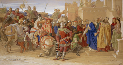 William Dyce - The Knights of the Round Table about to Depart in Quest of the Holy Grail
