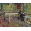 William Glackens - Ira on the Breakfast Porch at Bellport