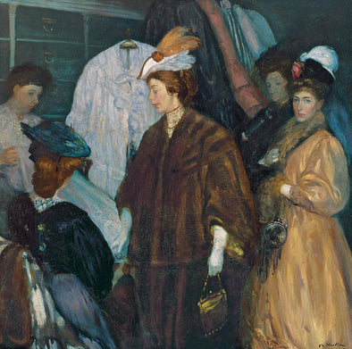 William Glackens - Shoppers