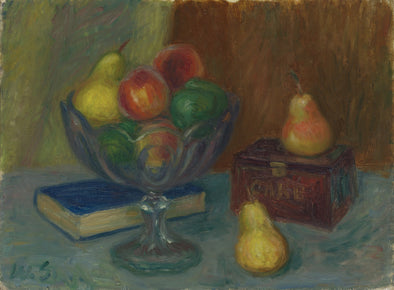 William Glackens - Still Life with Japan Box