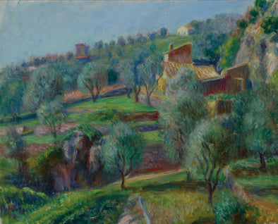 William Glackens - Terraces, South of France