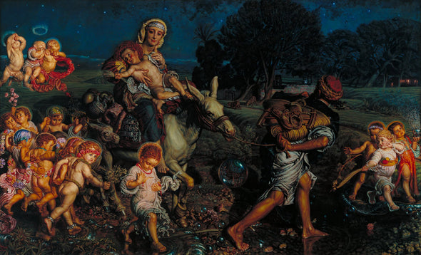 William Holman Hunt - The Triumph of the Innocents
