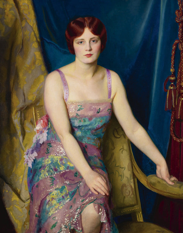 William McGregor Paxton - Glitter