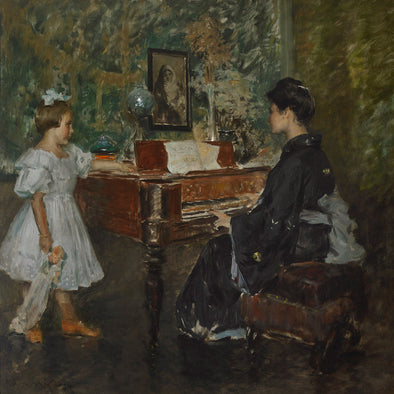 William Merritt Chase - The Music Lesson