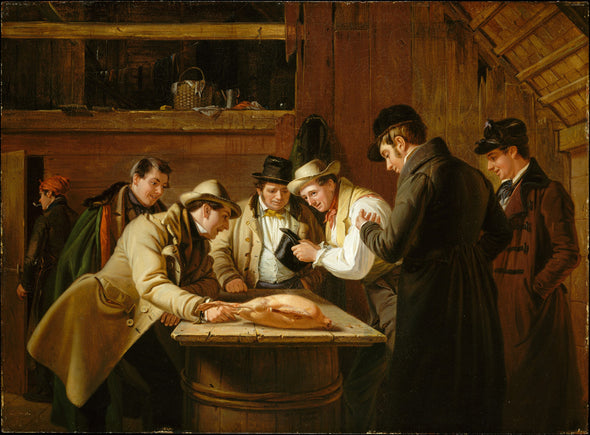 William Sidney Mount - The Raffle (Raffling for the Goose)