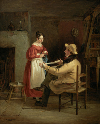 William Sidney Mount - Winding Up