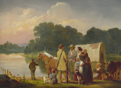 William Tylee Ranney - Waiting for the Ferry