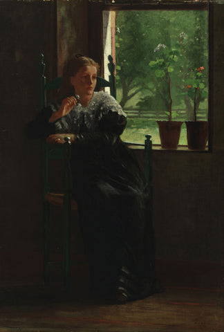 Winslow Homer - At the Window