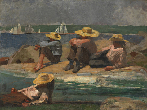 Winslow Homer - Children on the Beach