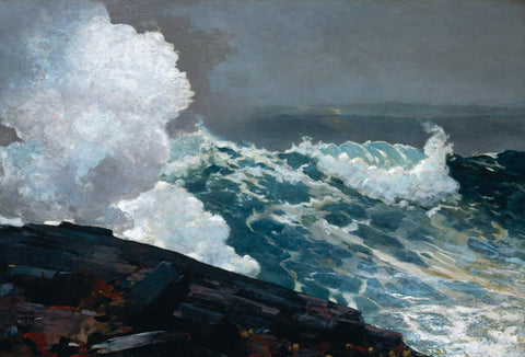 Winslow Homer - Northeaster