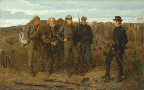 Winslow Homer - Prisoners from the Front