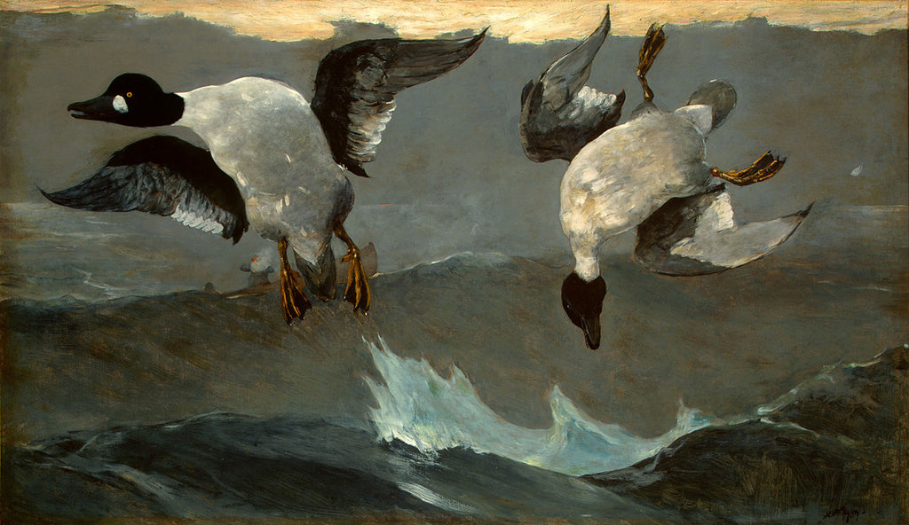 Winslow Homer - Right and Left